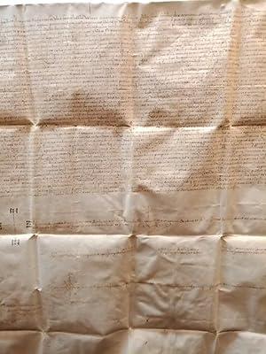 1510, septiembre, 2. Monzón: Documento sobre pergamino: DOCUMENTO MANUSCRITO. SIGLO