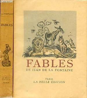 FABLES DE JEAN DE LA FONTAINE /: DE LA FONTAINE
