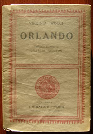 Orlando [first French edition]