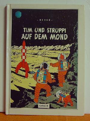 Tim Und Struppi Auf Dem Mond