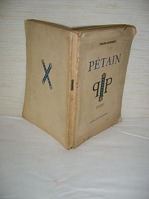 PETAIN.: PALUEL-MARMONT (Albert)