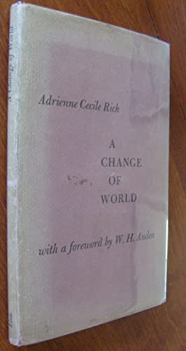 A Change of World [first edition]