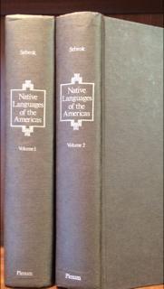 Native Languages of the Americas.: Sebeok, Thomas A.