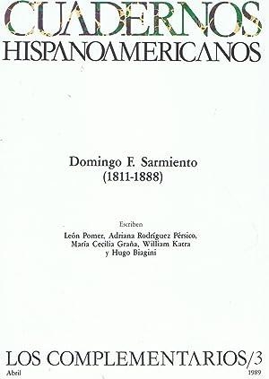 Imagen del vendedor de DOMINGO F. SARMIENTO (1811-1888) Los Complementarios, nº 3. Abril 1989. a la venta por Librería Torreón de Rueda