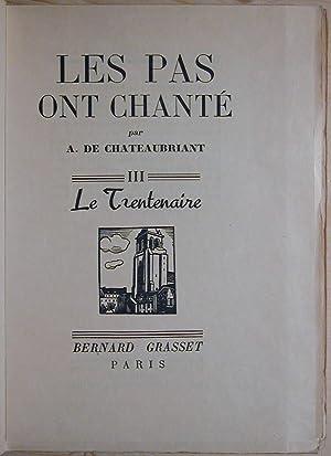 Les pas ont chanté: CHATEAUBRIANT (de), Alphonse