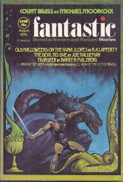 """FANTASTIC Stories: August, Aug. 1975 ('Count Brass"""";: Fantastic (R. A."""