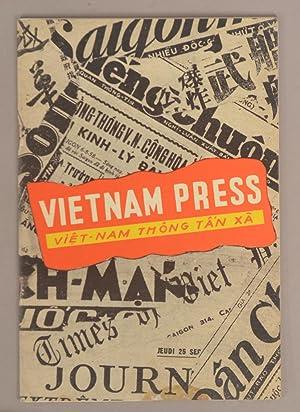 Bild des Verkäufers für VIETNAM PRESS (VIET-NAM THONG TA'N XA) zum Verkauf von Boston Book Company, Inc. ABAA