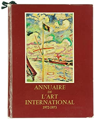 ANNUAIRE DE L'ART INTERNATIONAL 1972-1973.: Fourny Max.