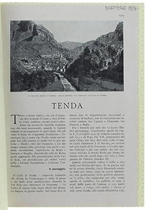 """TENDA. Stralcio da """"LE VIE D'ITALIA"""", dicembre: Stacchini Paolo."""