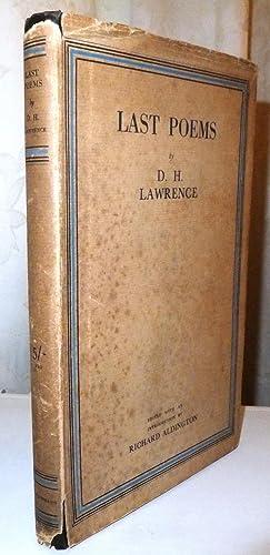 Last Poems: D.H. Lawrence