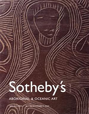 Sotheby's Aboriginal and Oceanic Art : Melbourne, 15 & 16 November 2005