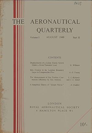 The Aeronautical Quarterly. August 1949. Volume 1. Part 2. Journal of The Royal Aeronautical Society