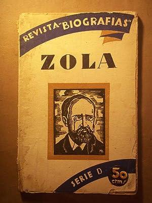 Bild des Verkäufers für EMILIO ZOLA por. zum Verkauf von Carmichael Alonso Libros
