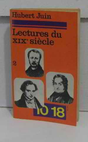 Lectures du XIXeme siècle tome 2: Juin Hubert
