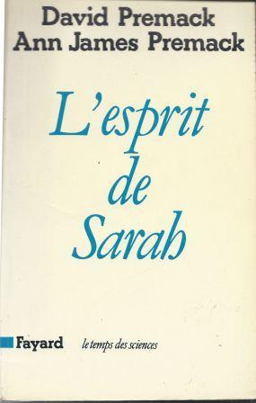 Seller image for L'esprit de Sarah for sale by LES TEMPS MODERNES