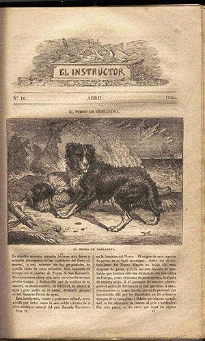 El instructor o repertorio de Historia, Bellas Letras y Artes (Publicación periódica). Tomos II, IV...