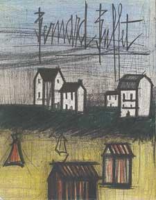 Bernard Buffet: Lithographs, 1952-1966.: Mourlot, Fernand.