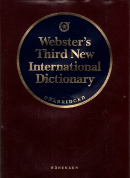 Seller image for Webster's Third New International Dictionary of the English Language Unabridged for sale by Leipziger Antiquariat e.K.