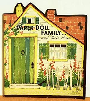 The Paper Doll Family and Their House: Florence and Margaret