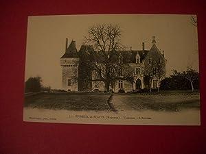 Épineux-le-Séguin - Deux Cartes Postales Anciennes - Place de l Église - Château de Varennes-l'...