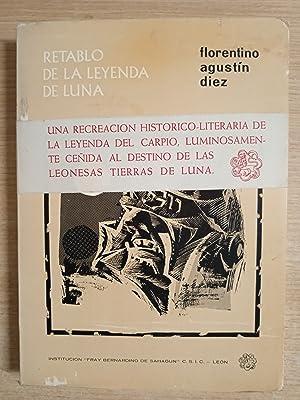 Retablo de la leyenda de Luna: Diez, Florentino-Agustin