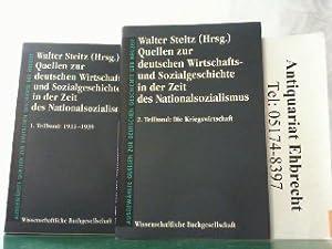 Quellen zur deutschen Wirtschafts- und Sozialgeschichte in der Zeit des Nationalsozialismus. Hier ...