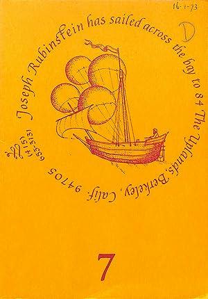 Catalogue 7/(1973): Italy 1500-1700.: RUBINSTEIN, JOSEPH -