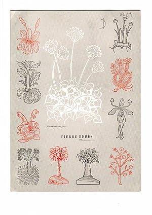 Catalogue no.nr/n.d: n.t.: BERÈS, PIERRE -