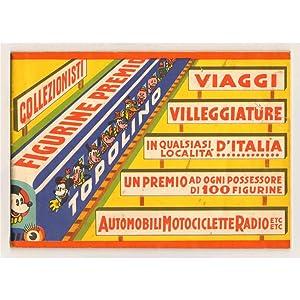 FIGURINE PREMIO TOPOLINO: WALT DISNEY