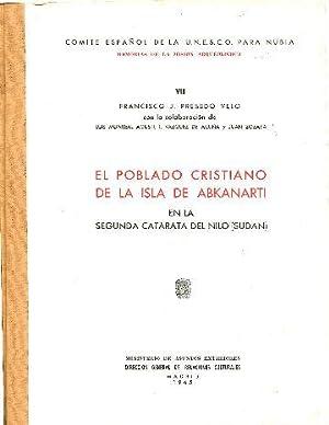 POBLADO CRISTIANO DE LA ISLA DE ABKANARTI: PRESEDO VELO Francisco