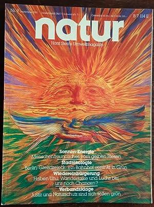 Bild des Verkäufers für Natur. Horst Sterns Umweltmagazin. 1981 - Nr. 9. zum Verkauf von buch-radel