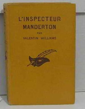 Bild des Verkäufers für L'inspecteur manderton zum Verkauf von crealivres