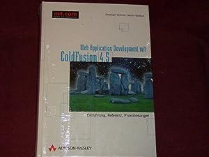 Webapplication Development mit ColdFusion 4.5 . Einführung, Referenz, Praxislösungen (net.com).: ...