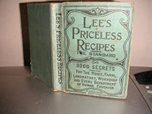 Lee's Priceless Recipes: The Standard: Dr. N. T.
