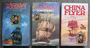 THE ADAM HORNE ADVENTURES. 3 VOLUME SET. 1. THE BOMBAY MARINES. 2. THE WAR CHEST. 3. CHINA FLYER.