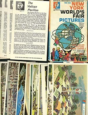 Official Souvenir Flash Card Set: 1964-1965 New York World's Fair Pictures, text in.English, Fren...