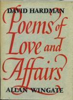 Poems of Love and Affairs: Hardman, David