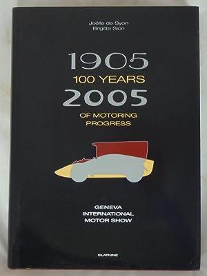 1905 - 2005 100 Years of Motoring: Joelle De Syon