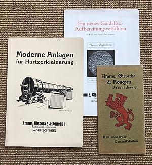 Moderne Anlagen für Hartzerkleinerung. Amme, Giesecke & Konegen Aktiengesellschaft Braunschweig...
