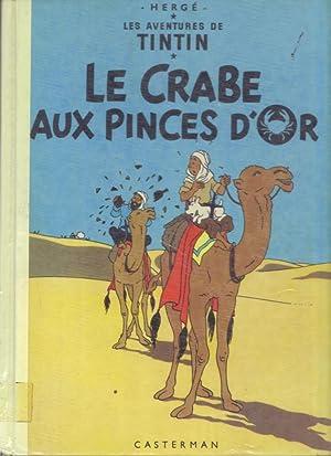 Le Crabe Aux Pinces D'Or - Les: Herge