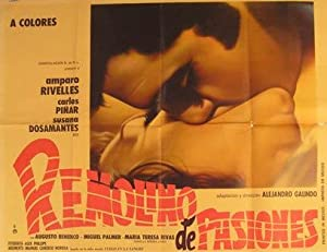 Remolino de Pasiones. Movie poster. (Cartel de la Película).: Dirección: Alejandro Galindo. Con ...