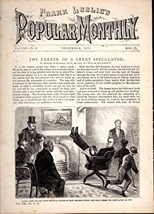 """PRINT: """"The Career of a Great Speculator"""".story: Kimball, Richard B.Frank"""