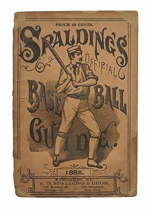 SPALDING'S BASE BALL GUIDE And Official League: Baseball]. Spalding, A[lbert].