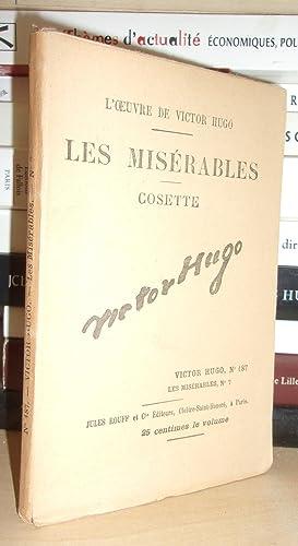 Image du vendeur pour LES MISERABLES - (Cosette) N° 7 - L'Oeuvre De Victor Hugo - T187 mis en vente par Planet'book