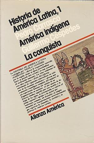 HISTORIA DE AMERICA LATINA 1 (América Indígena: PEDRO CARRASCO-GUILLERMO CESPEDES
