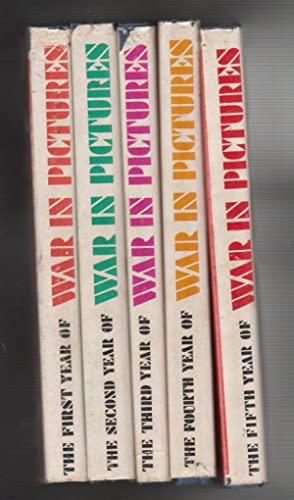 THE WAR IN PICTURES. 5 Volumes. First.Second.Third.Fourth.Fifth