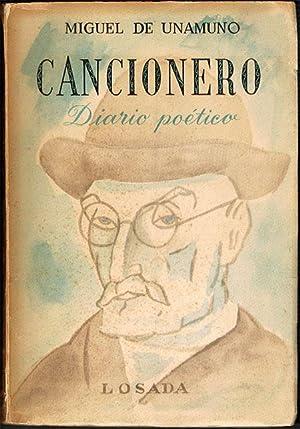 CANCIONERO. Diario poético.: UNAMUNO, Miguel de.