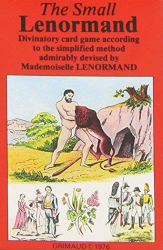 3114523941584: Jeu Petit Lenormand - le Jeu
