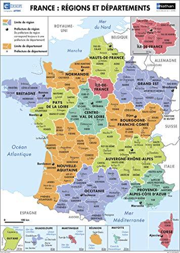 3133090526864: Poster France Regions