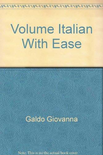 Volume Italian With Ease: Galdo Giovanna